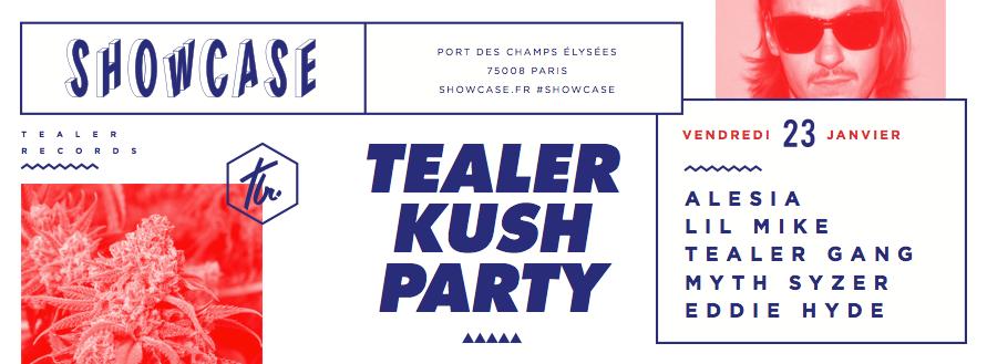 Concours : gagnez des places pour la Tealer Kush Party à Paris