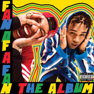 Tyga Chris Brown Fan of Fan The Album Cover