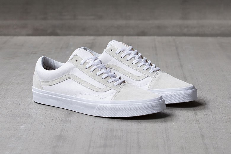 Vans California 2015 Old Skool CA « True White »