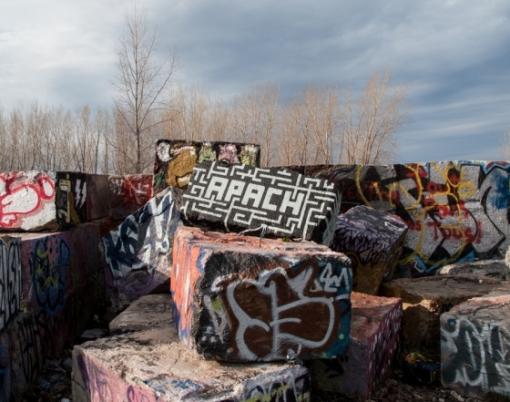 Apach Geological Graffiti