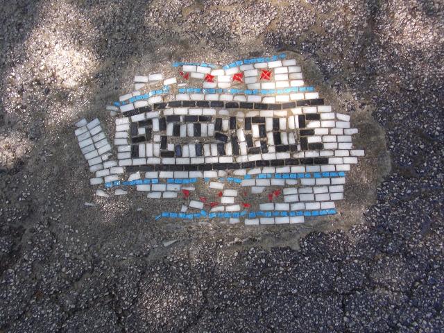 Jim Bachor Potholes Street Art