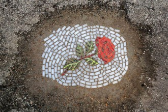Jim Bachor Potholes Street Art
