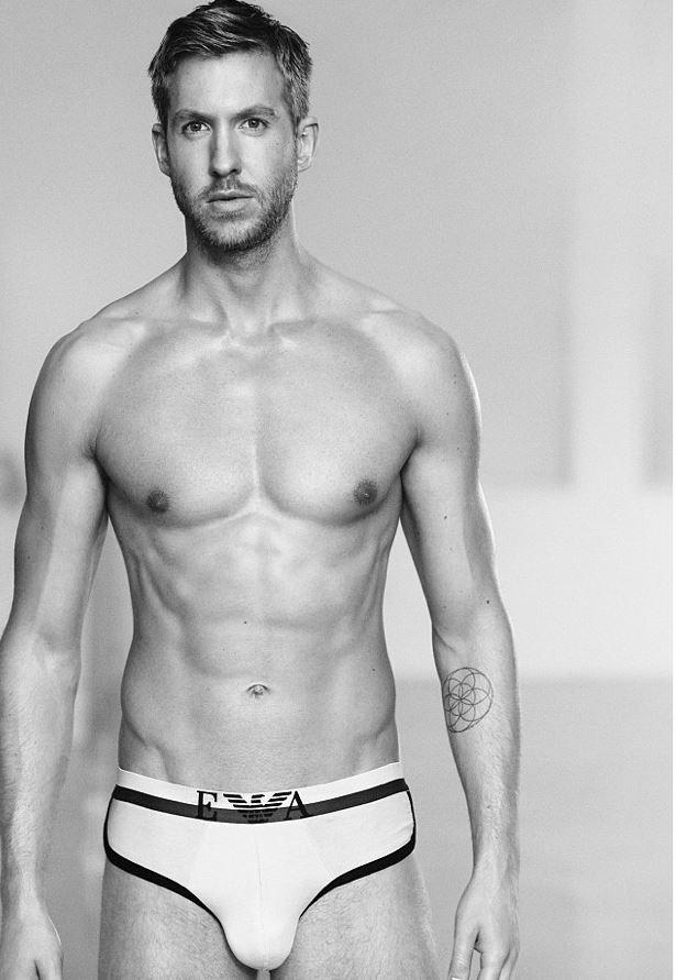 Calvin Harris x Emporio Armani  Underwear S/S 15