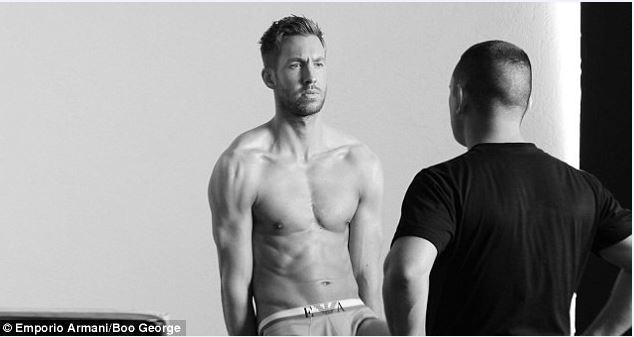 Calvin Harris underwear 2015