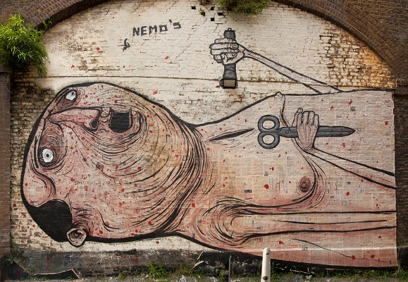 NemO's Street Art Before and After