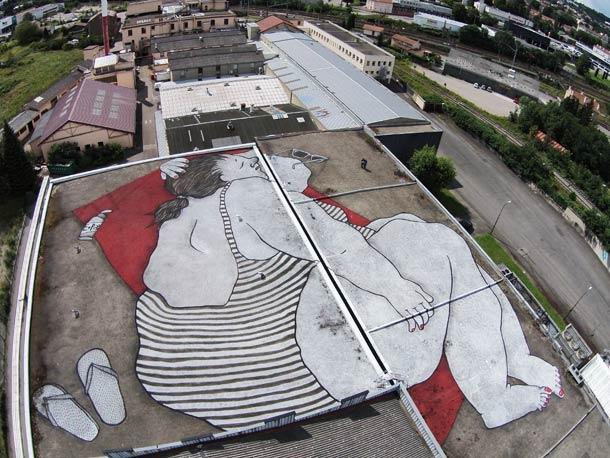 Ella & Pitr Street Art _ Par Terre