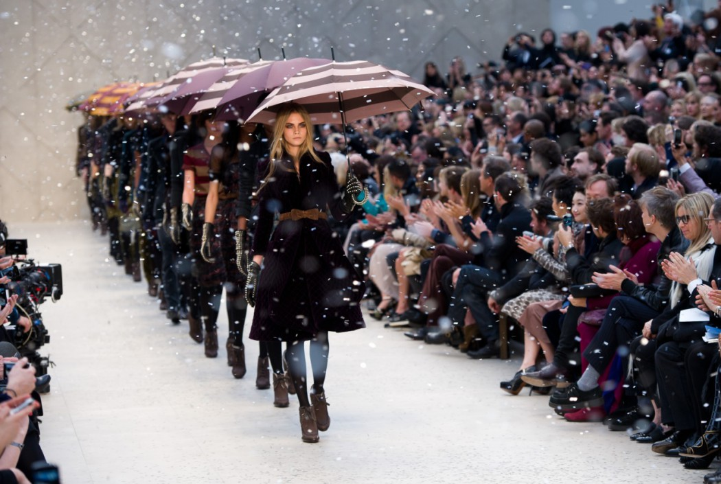 Fashion Week daily - Burberry Prorsum show AH12