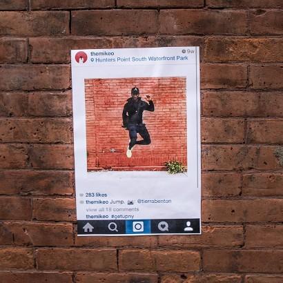 Get Up NY Instagram Street Art
