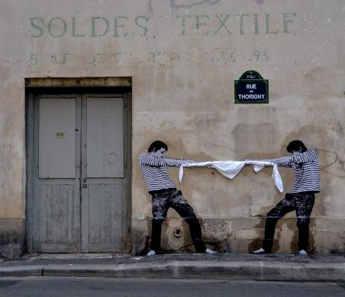 Levalet Street Art Chiffonniers