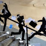 Levalet Street Art Envolée Sauvage