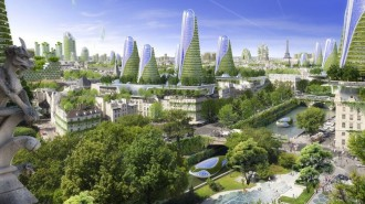 Paris Smart City 2050 Vert