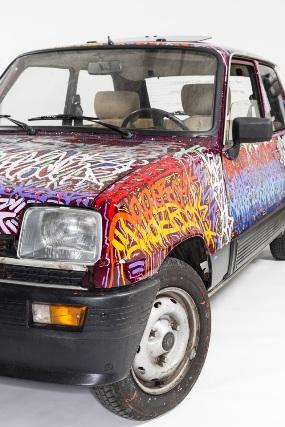 Perrier Inspired By Street Art JonOne