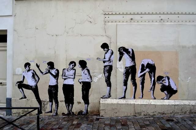 Levalet Street Art File