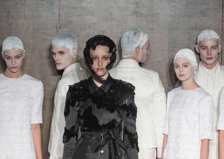Thom Browne : Le deuil commun pour l'Automne/hiver 2015