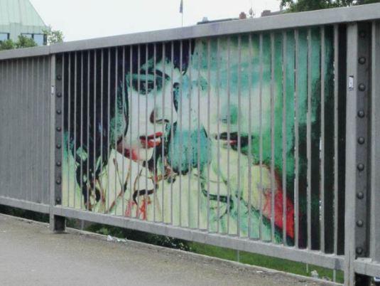 Zebrating Street Art