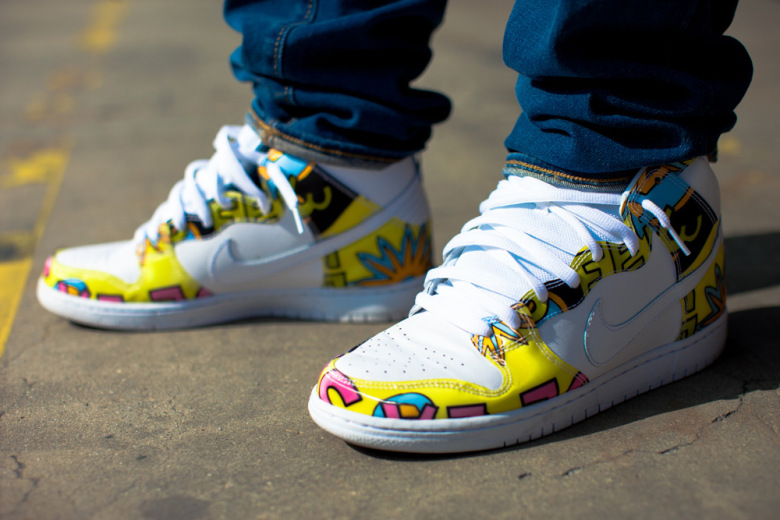 De La Soul x Nike SB Dunk High