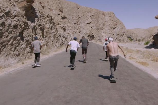 Adidas Skateboarding à l'assaut des terres inconnues de Namibie