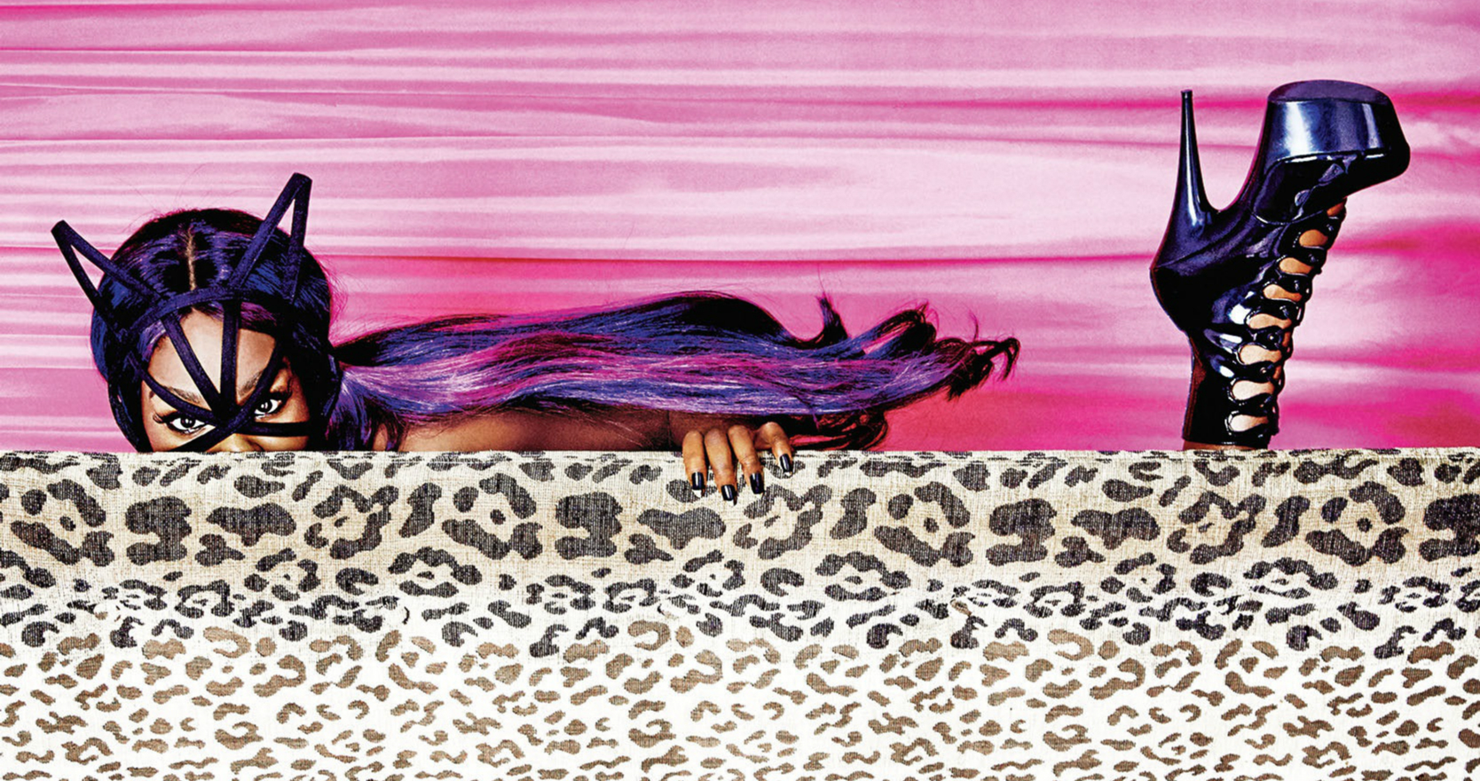 Azealia Banks en Une de PlayBoy