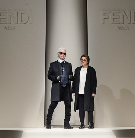 Fashion Week de Milan: Fendi, entre graphisme et patchworks