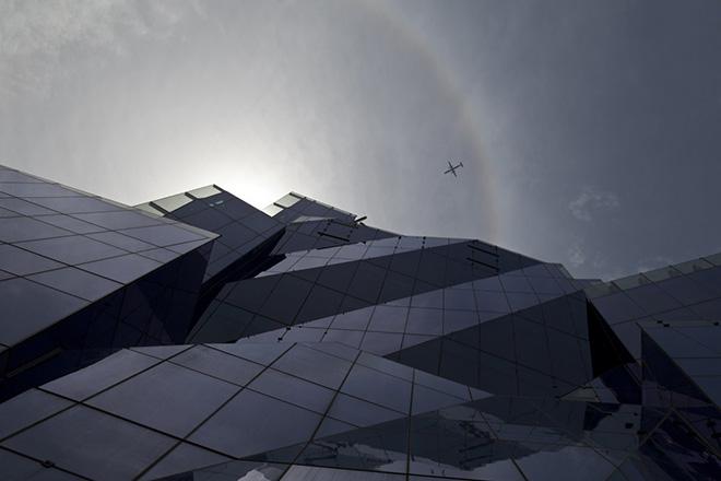 Frank Gehry Crumpled Bag immeuble