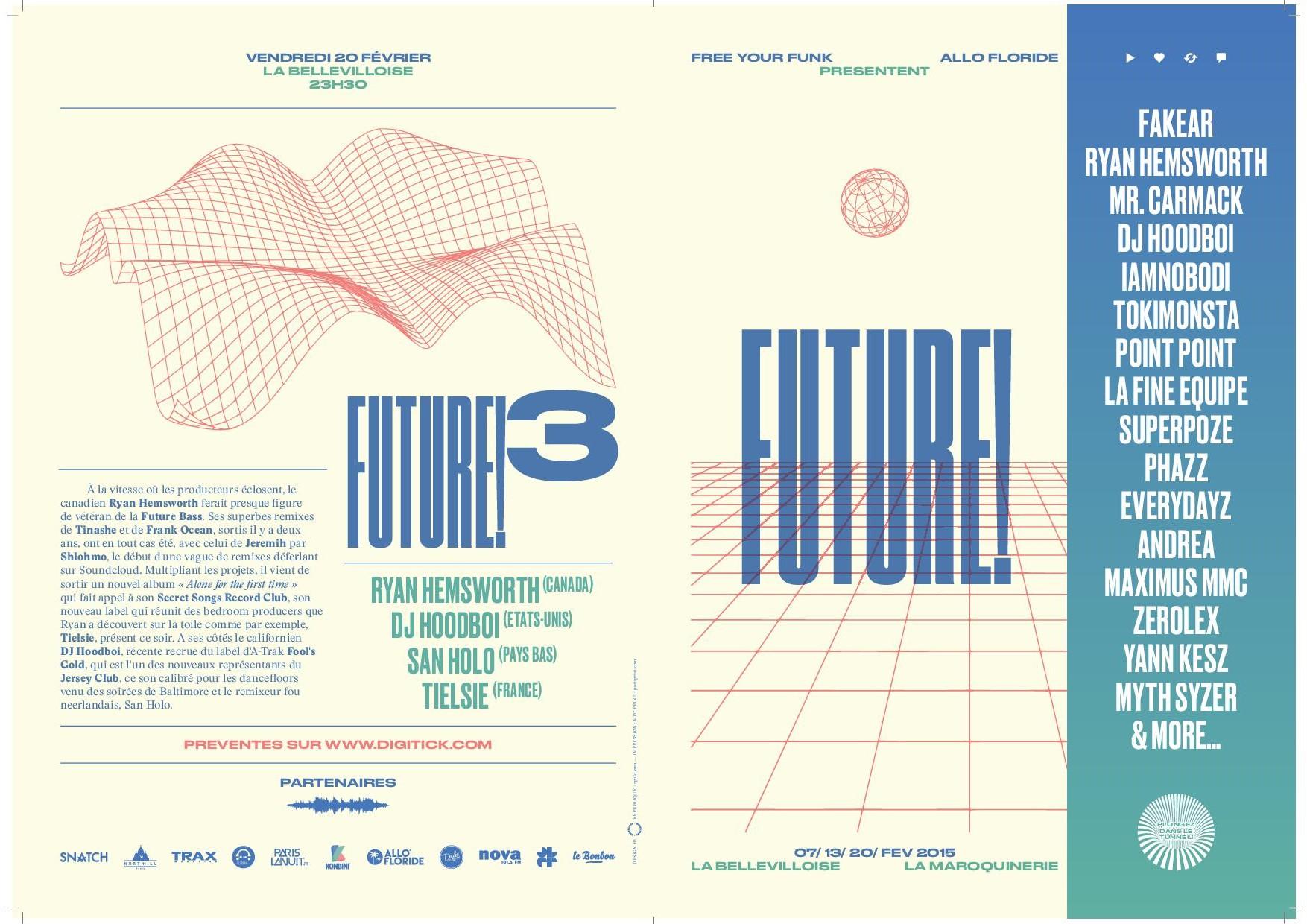 Concours : gagnez 2 places pour le festival Future! #3 à Paris