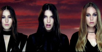 Haim Pray to God Calvin Harris Clip vidéo