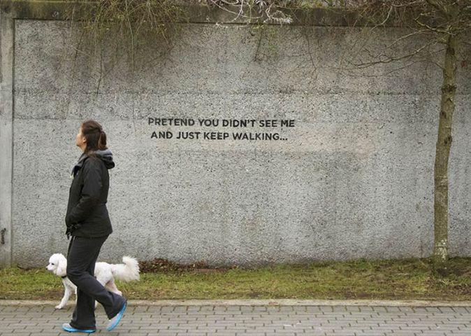 iHeart Street art
