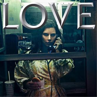 kim kardashian love cover