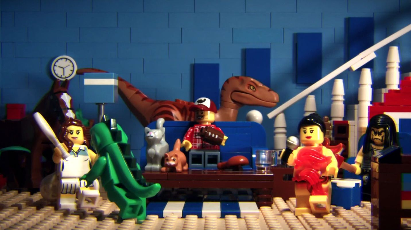 La pub du Super Bowl XLIX version LEGO