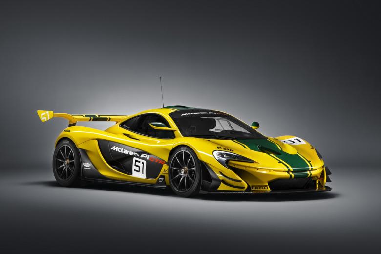 McLaren dévoile un édition exclusive de la P1 GTR pour Genève