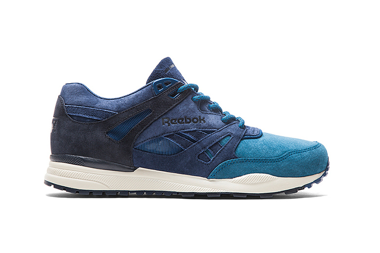 Mita sneakers x Reebok: Ventilator «Blue Velvet»