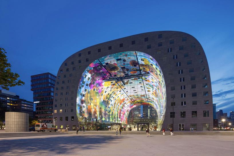 Markthal de Rotterdam, un marché hybride hors-norme