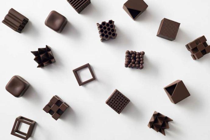 Nendo Studio ChocolaTexture