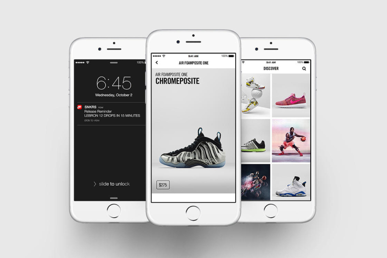 Nike lance son application mobile baptisée SNKRS