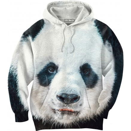 panda hoodie aloha from deer