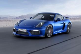 Porsche Cayman GT4 : les premiers clichés !