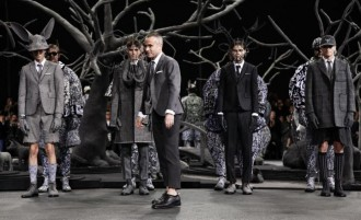 Fashion week New-Yorkaise - défilé paris AH14 Thom Browne