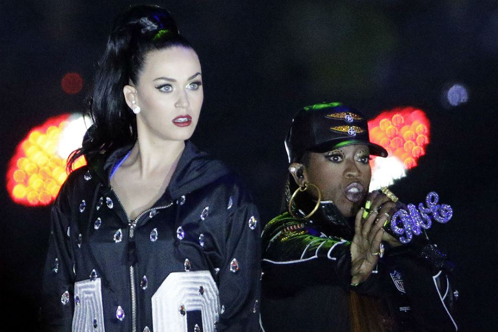 katy perry lenny kravitz missy elliot super bowl