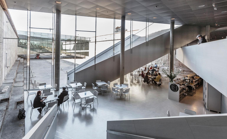 Le musée Maritime Danois, BIG