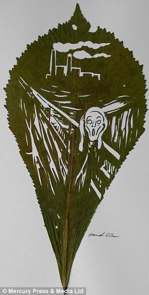 Le cri d'Evdard Munch par Omid Asadi