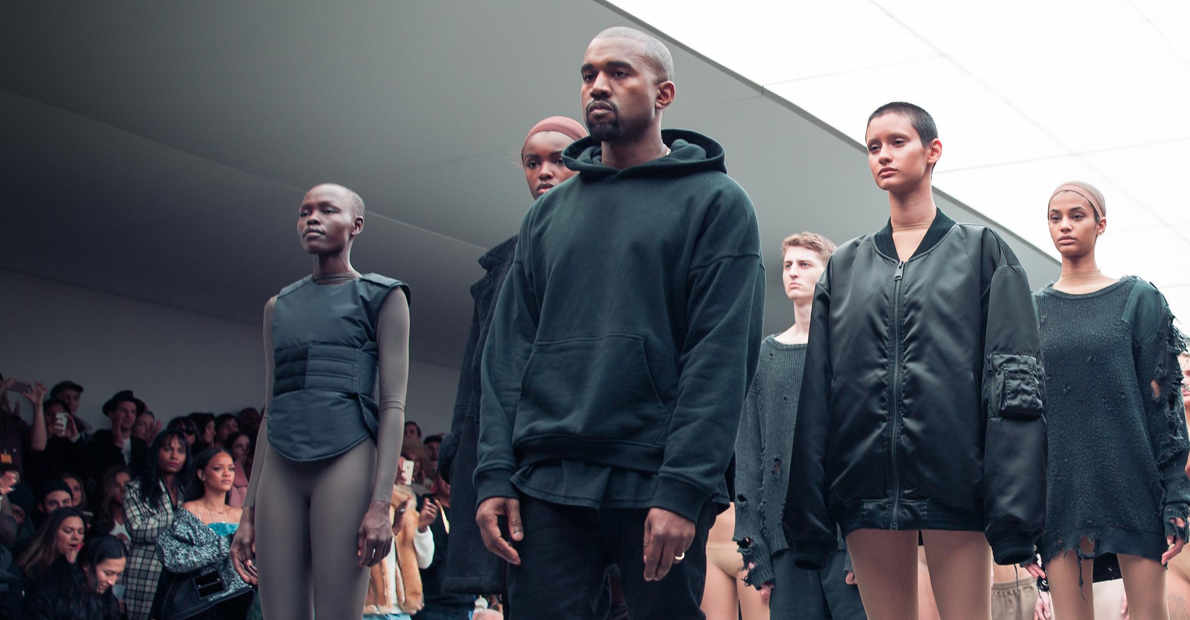 Kanye West détrône Chanel sur Style.com avec son show «Yeazy Season 1 »