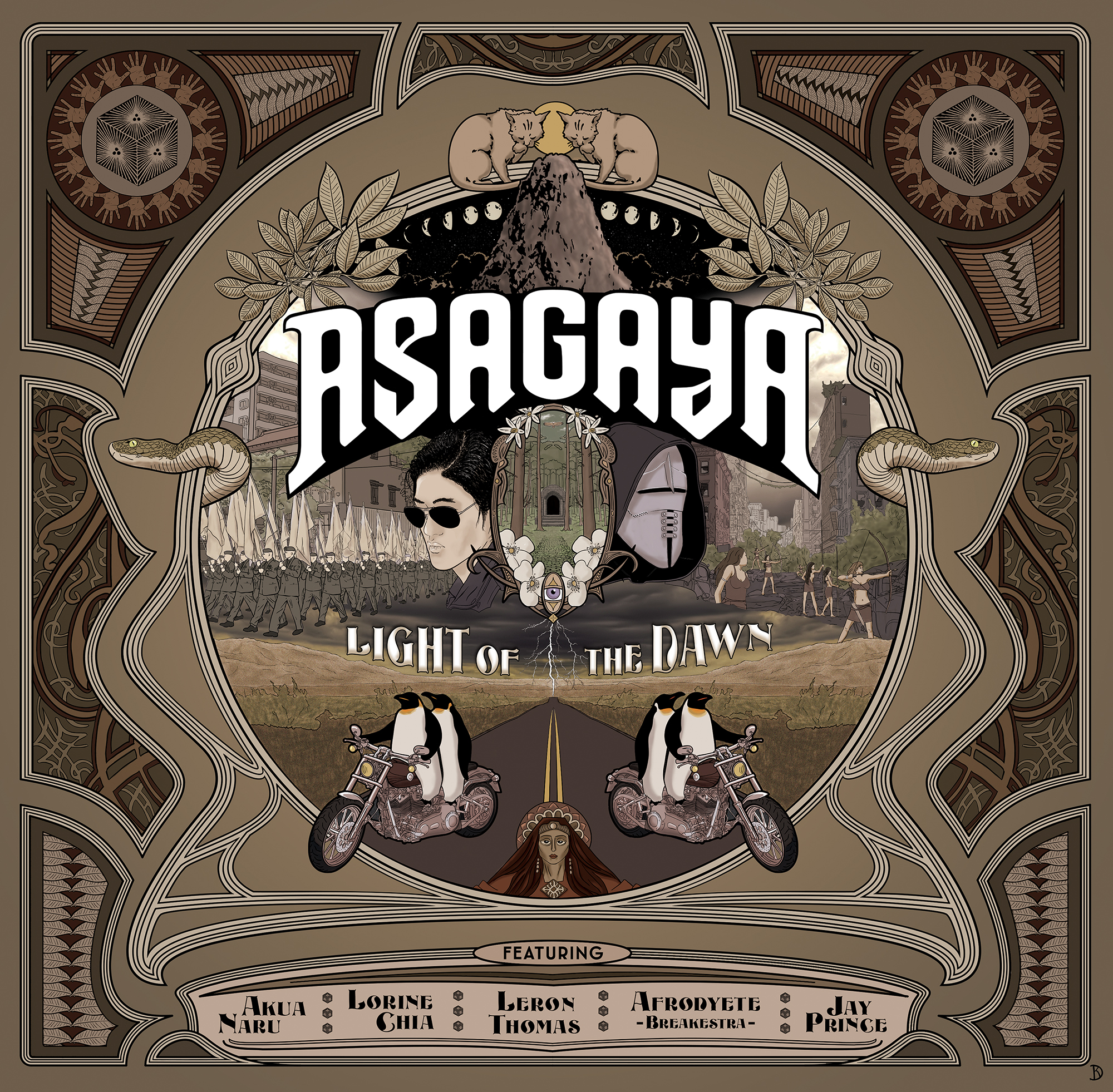 [CHRONIQUE] Asagaya – The Light Of The Dawn