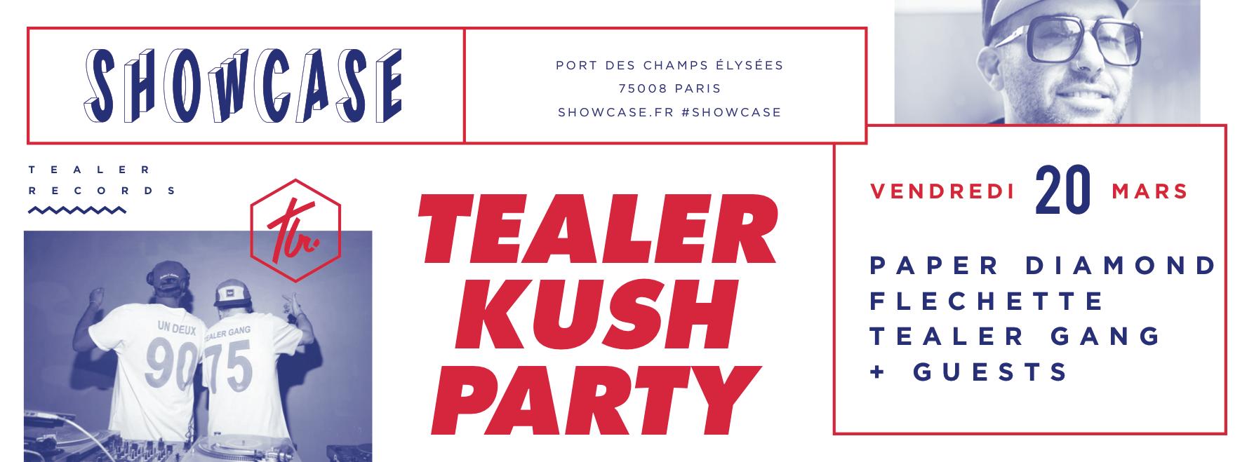 Concours : gagnez des places pour la Tealer Kush Party du 20 mars à Paris