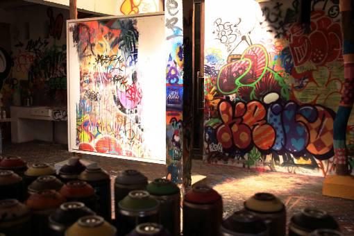 Le Jardin Rouge : paradis du street art