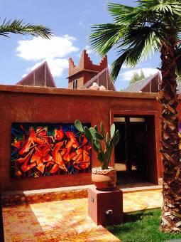 Fondation Montresso Jardin Rouge