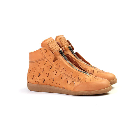 Maison Margiela Zip-Up High Top « Natural »