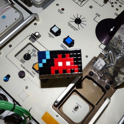 Invader Space Art ESA