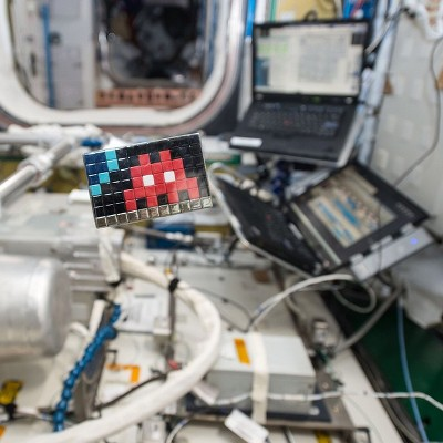 Invader Space Art ESA