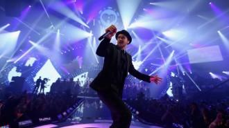 Justin Timberlake iHeart Radio Award 2015