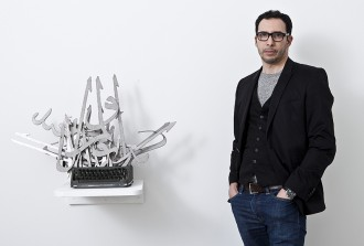 mounir fatmi, art contemporain, art fair, paris, interview